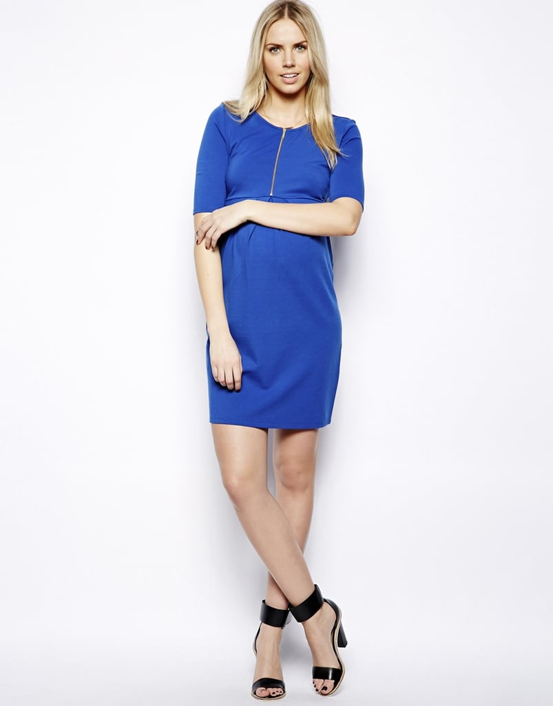 Isabella Oliver Zip Front Tunic Dress