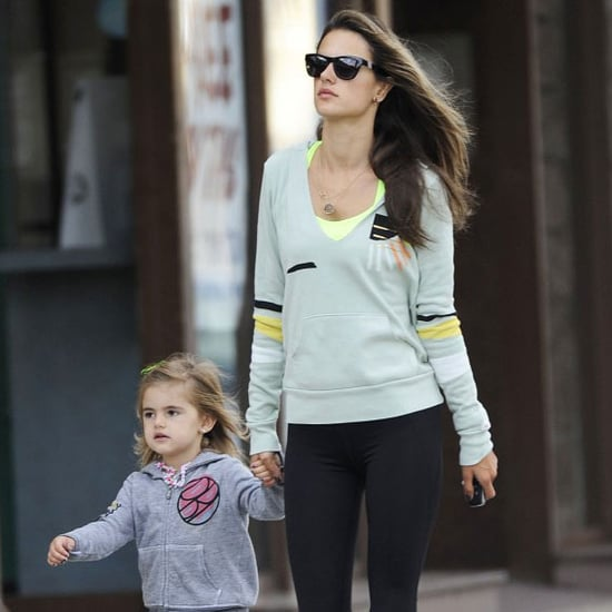 Alessandra Ambrosio Working Out With Anja | Pictures