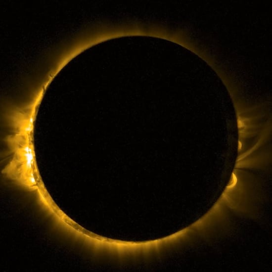Astronauts Share Photos of Solar Eclipse From Space
