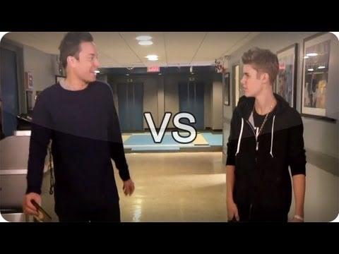 Jimmy Fallon vs. Justin Bieber
