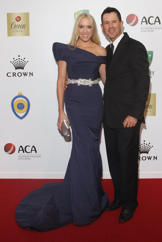 Ricky Ponting and Rianna Ponting