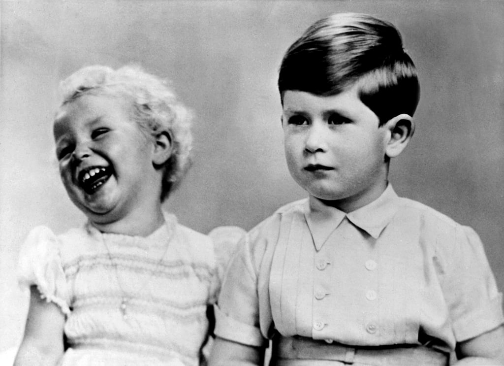 Prince Charles proved to take this portrait session very seriously, unlike his younger sister, Princess Anne. The image captured their personalities.