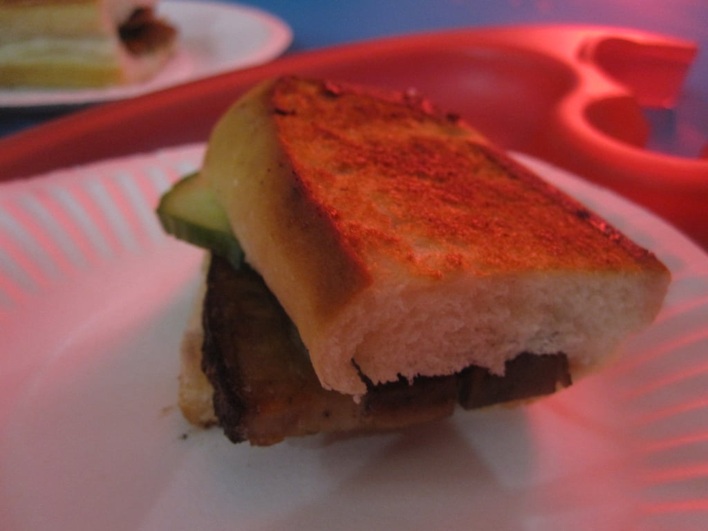 This pork belly sandwich was bomb.com!
