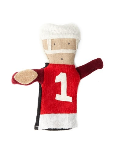 Cate & Levi Football Puppet