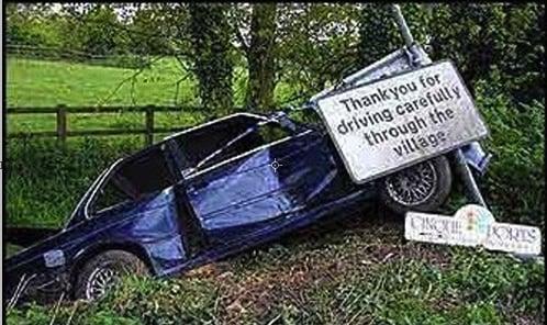 When Auto Accidents Are Funny