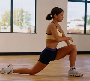 Stretch It: Hip Flexor Lunge