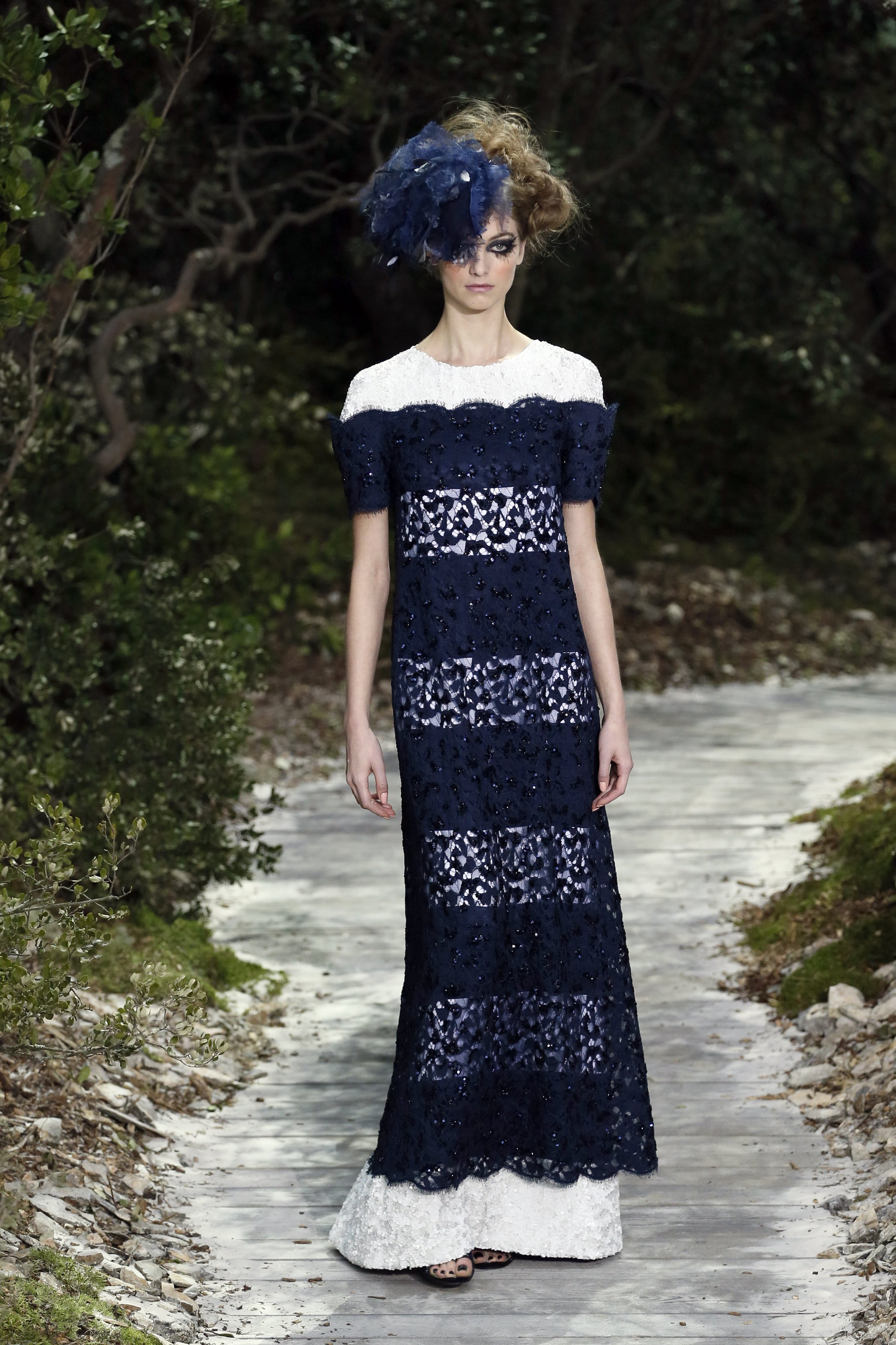 Lace at Chanel