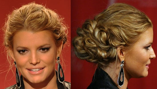 Jessica Simpson's Hair at the 2009 Academy of Country Music Awards