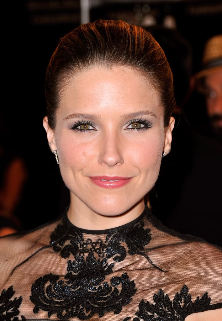 Sophia Bush at Monique Lhuillier