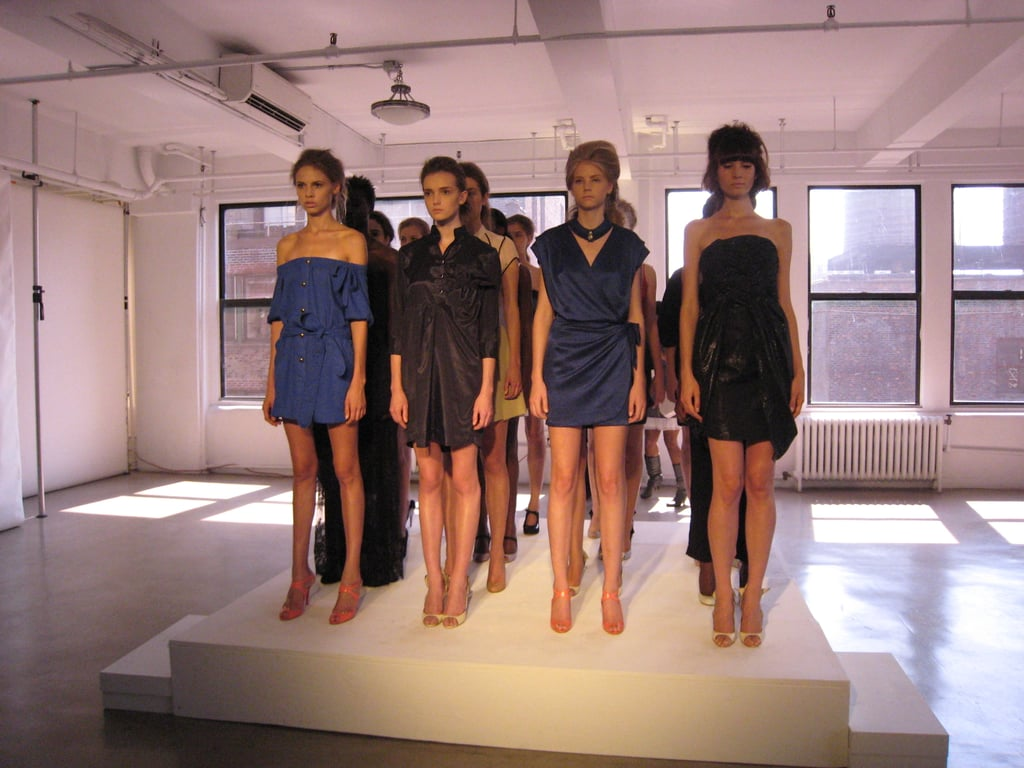 Nuj Novakhett Throws It Into First Gear for Spring 2009