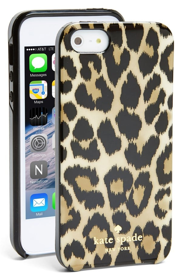 Kate Spade Leopard Ikat iPhone 5/5S Case