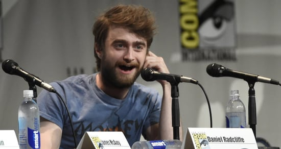 Watch Daniel Radcliffe's Cheeky Acceptance Speech for 'Rear of the Year' Award