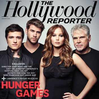 The Hunger Games Hollywood Reporter Interview with Jennifer Lawrence