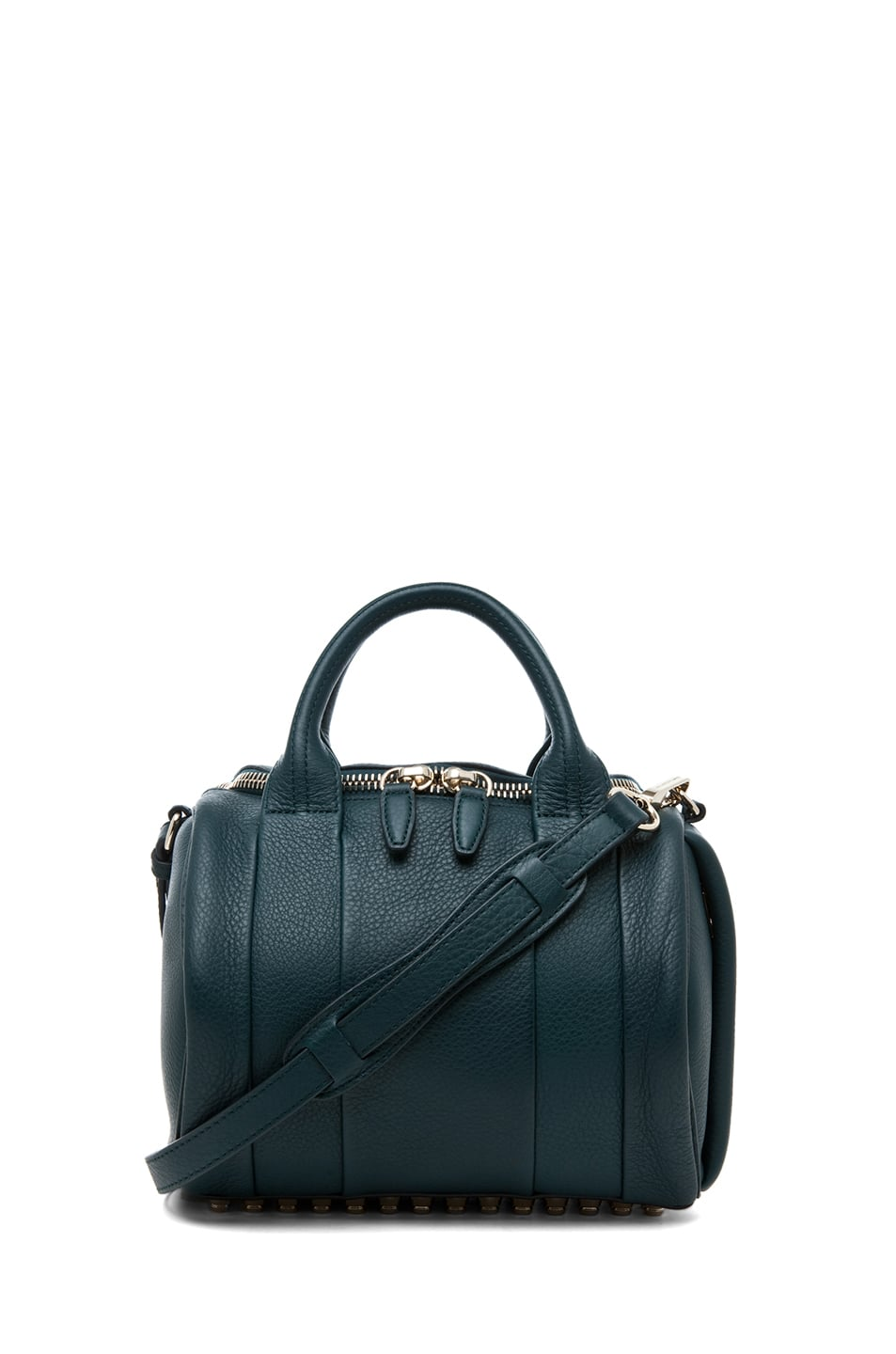 Another year, another beautiful bag to obsess over. This time around, I've got my eye on Alexander Wang's Rockie Satchel ($725). It's a smaller, more compact version of his infamous Rocco duffel, but it definitely doesn't skimp on style. The deep teal shade and brass hardware make it especially drool-worthy. — Britt Stephens, assistant editor