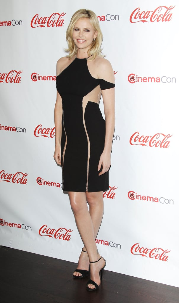 She chose this skin-baring Dion Lee LBD for an event in April 2012.