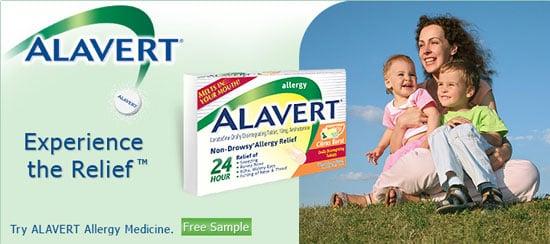 FREE Sample Alert: Alavert Allergy Medication
