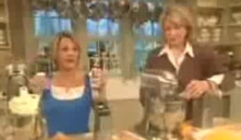 Martha Stewart Tries To Hang With The Cool Crowd
