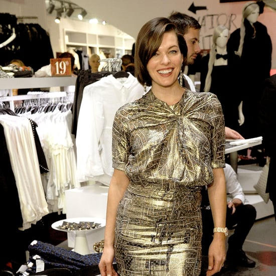 Milla Jovovich Predicted Mass Mayhem at Isabel Marant For H&M