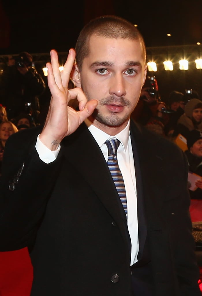 Shia LaBeouf hit the red carpet for his The Necessary Death of Charlie Countryman in Berlin.