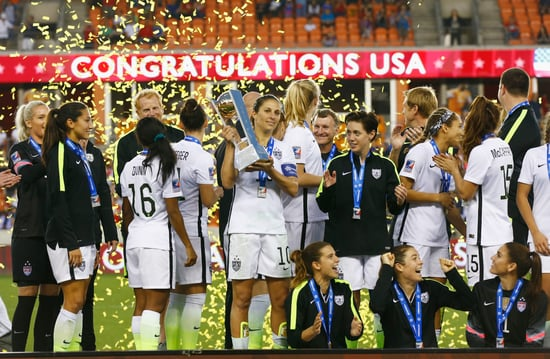 U.S. Women's Soccer Team Will Strike If They Don't Get As Much Money As The (Far Shittier) Men's Team