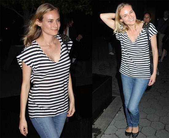 Photos of Diane Kruger, Quentin Tarantino, Melanie Laurent, and Eli Roth From Inglorious Basterds at a Q&A Session in NYC