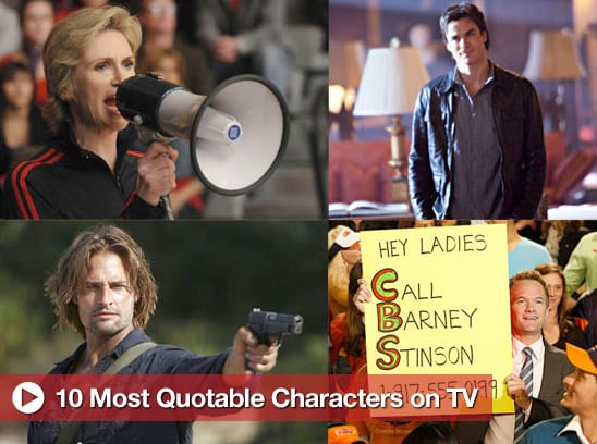 Sugar Shout Out: The 10 Most Quotable Characters on TV