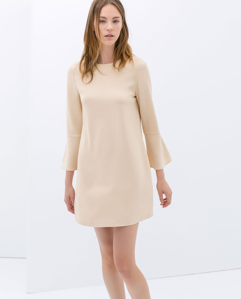 Zara Bell-Sleeve Dress