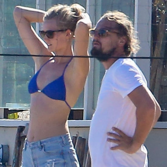 Leonardo DiCaprio and Toni Garrn Play Volleyball | Pictures