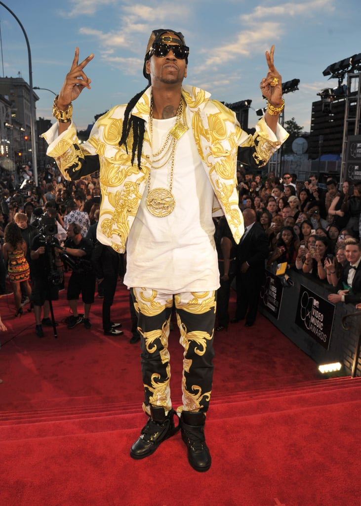 2 Chainz attended the MTV VMAs.