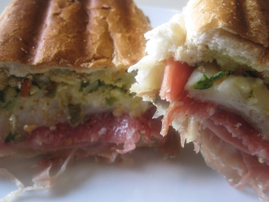 Hot Muffuletta Sandwich Recipe