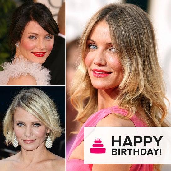 Cameron Diaz's Beauty Evolution to Celebrate Her Birthday