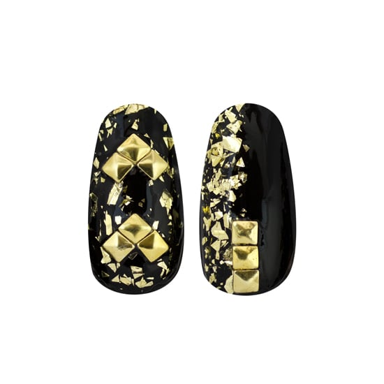 Demi Lovato works it when it comes to her beauty looks, and this month, you can replicate some of her showstopping nail art designs with five new kits from The New Black ($14-$22, available at Ulta Nov. 4). Stephanie Stone, Demi's manicurist, helped create the designs, which range from graphic prints with gold and black to vibrant shades of purple with glitter polish and diamond studs. — KJ