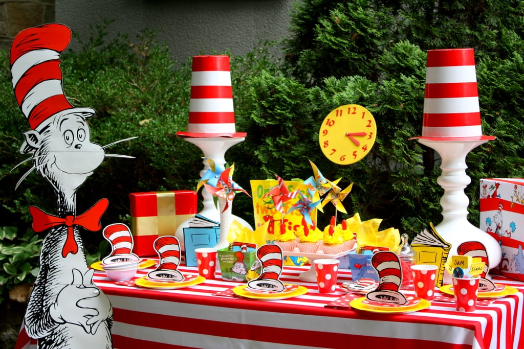 A Dr. Seuss-Themed Birthday Party