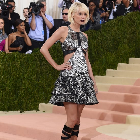 Taylor Swift Goes Goth at 2016 Met Gala (Video)