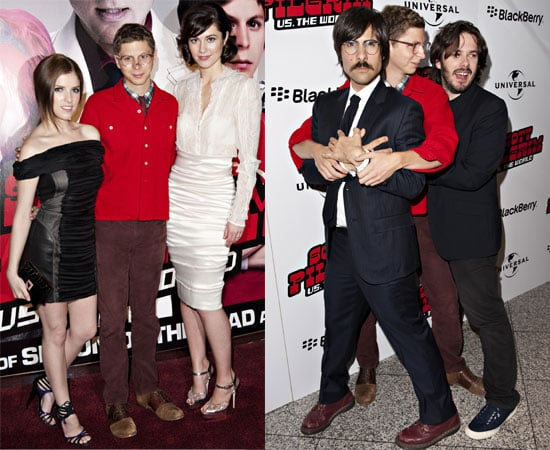 Pictures from the Scott Pilgrim vs. the World European Premiere in London