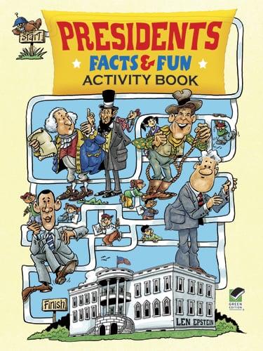 Presidents Facts & Fun Activity Book