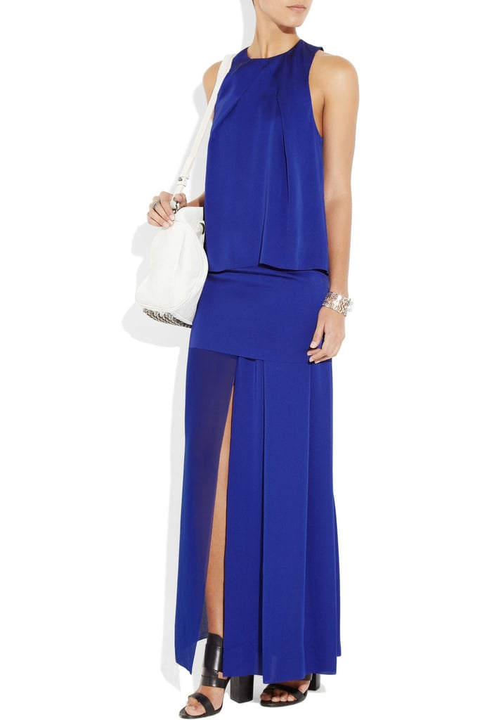 "The sexy front slit is key for the Acne maxi, allowing the rest of the dress to remain ""modest"" — save for that one flashy detail. Acne Barika Maxi Dress ($503)"