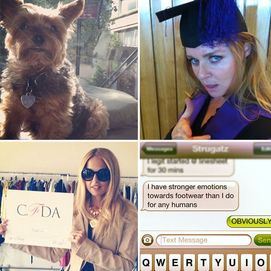 This Week's Best Candid Pictures from Twitter From Alexa Chung, Rachel Zoe, Miranda Kerr, The Man Repeller & More