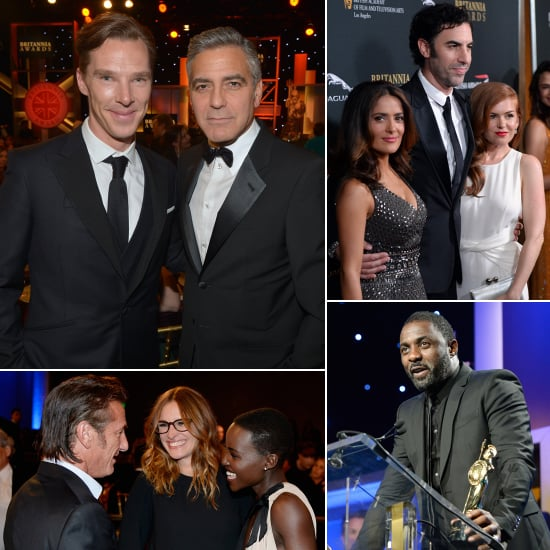 Finally, Clooney and Cumberbatch Are in the Same Room
