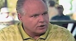 """Discussing Obama, Limbaugh Suggests Dems, Media Believe """"You Can't Criticize the Little Black Man-Child"""""""