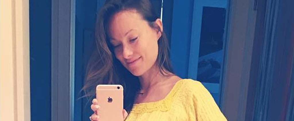 Olivia Wilde's Vintage Maternity Dress Will Remind You of This Disney Princess
