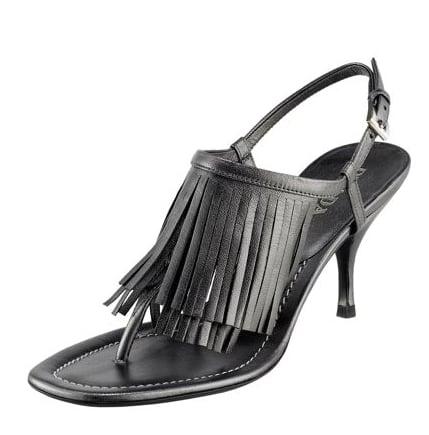 Prada Fringe Gunmetal Thong Sandal: Love It or Hate It?