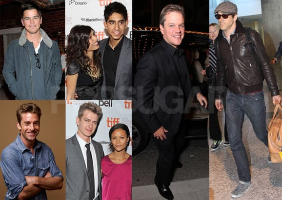 Pictures of Ryan Reynolds, Josh Hartnett, Freida Pinto, and Matt Damon at the 2010 Toronto Film Festival
