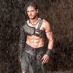 Kit Harington Shirtless in Pompeii