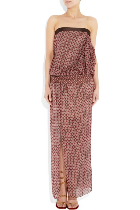 Marc Jacobs Printed Silk-Chiffon Strapless Gown ($2,100)