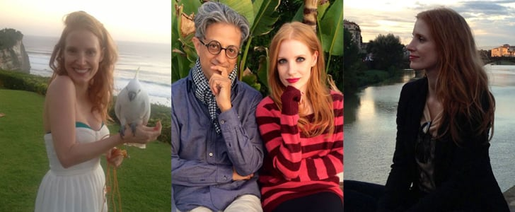 """Why We Are in """"Like"""" With Jessica Chastain's Facebook Page"""