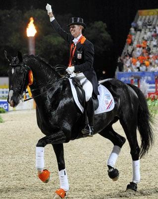 Olympic Equestrian Dressage Grand Prix Freestyle Winner