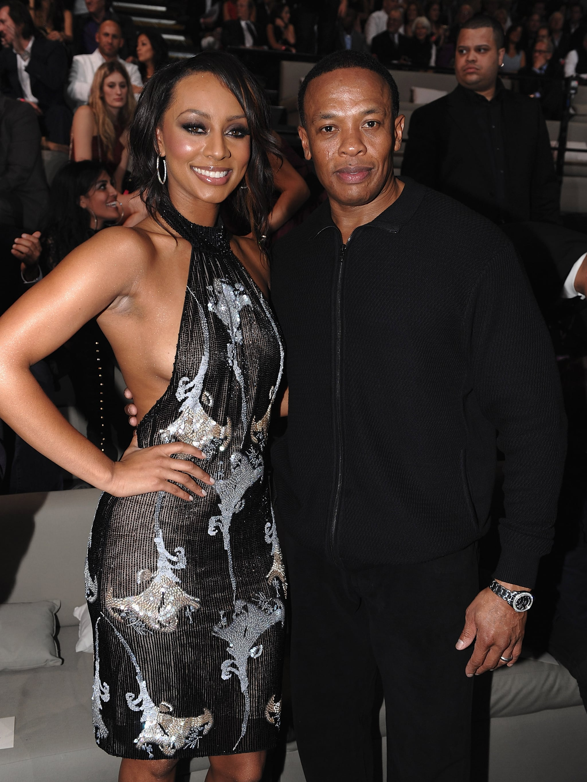Keri Hilson and Dr. Dre attended 2009's show.