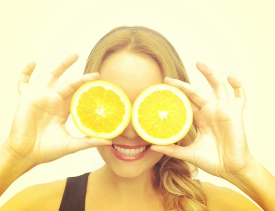 Orange you glad to see LC? Source: Twitter user laurenconrad