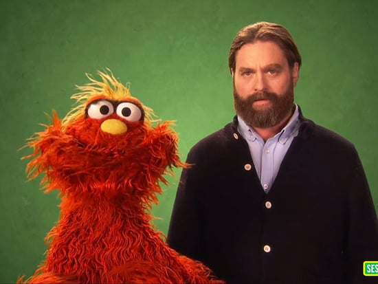 Zach Galifianakis Learns the Word 'Nimble' in New Sesame Street Spot